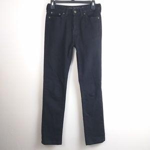 Boston Proper Paris Fit black jeans size 4